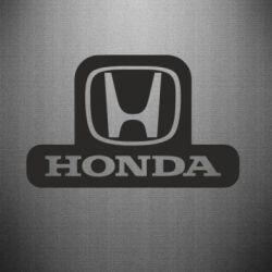 Наклейка Honda Stik