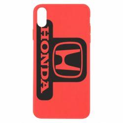 Чехол для iPhone X/Xs Honda Stik