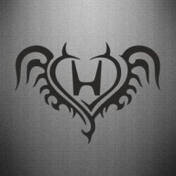 Наклейка Honda tattoo - FatLine