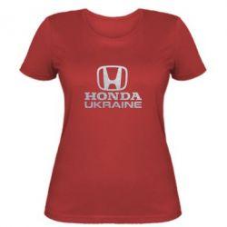Женская футболка Honda Ukraine Голограмма