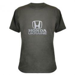 Камуфляжная футболка Honda Ukraine Голограмма