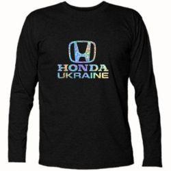 Футболка с длинным рукавом Honda Ukraine Голограмма