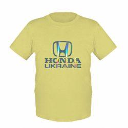Дитяча футболка Honda Ukraine Голограма