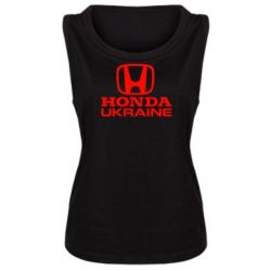 Женская майка Honda Ukraine - FatLine