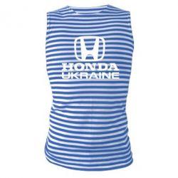 Майка-тельняшка Honda Ukraine