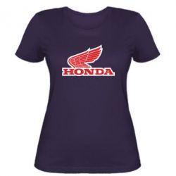 Женская футболка Honda Vintage Logo - FatLine