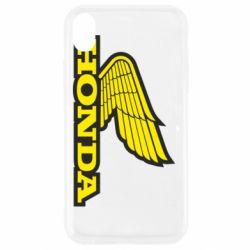 Чохол для iPhone XR Honda Vintage Logo