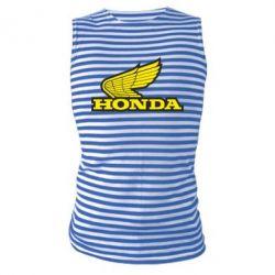 Майка-тельняшка Honda Vintage Logo - FatLine