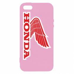 Чохол для iphone 5/5S/SE Honda Vintage Logo