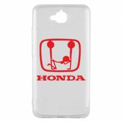 Чехол для Huawei Y6 Pro Honda - FatLine