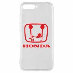 Чехол для Huawei Y6 2018 Honda - FatLine