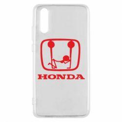 Чехол для Huawei P20 Honda - FatLine