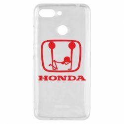 Чехол для Xiaomi Redmi 6 Honda - FatLine