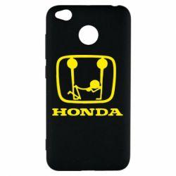 Чехол для Xiaomi Redmi 4x Honda - FatLine