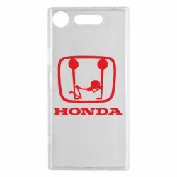 Чехол для Sony Xperia XZ1 Honda - FatLine