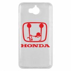 Чехол для Huawei Y5 2017 Honda - FatLine