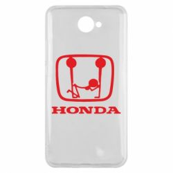 Чехол для Huawei Y7 2017 Honda - FatLine