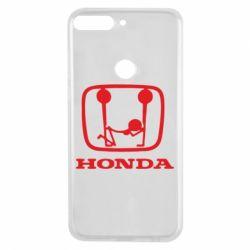 Чехол для Huawei Y7 Prime 2018 Honda - FatLine