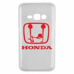 Чехол для Samsung J1 2016 Honda - FatLine