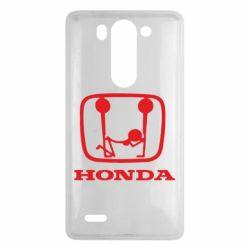 Чехол для LG G3 mini/G3s Honda - FatLine