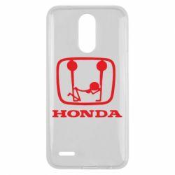 Чехол для LG K10 2017 Honda - FatLine