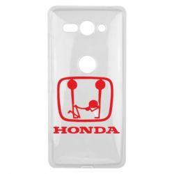 Чехол для Sony Xperia XZ2 Compact Honda - FatLine