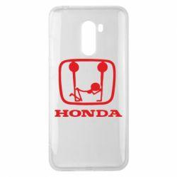 Чехол для Xiaomi Pocophone F1 Honda - FatLine