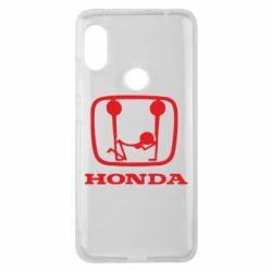 Чехол для Xiaomi Redmi Note 6 Pro Honda - FatLine