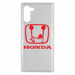 Чехол для Samsung Note 10 Honda - FatLine