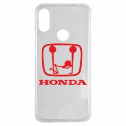 Чехол для Xiaomi Redmi Note 7 Honda - FatLine