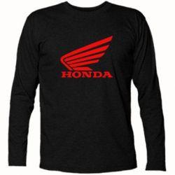 Футболка с длинным рукавом Honda