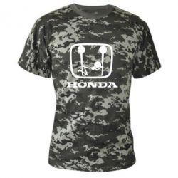 Камуфляжная футболка Honda - FatLine