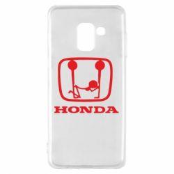 Чехол для Samsung A8 2018 Honda