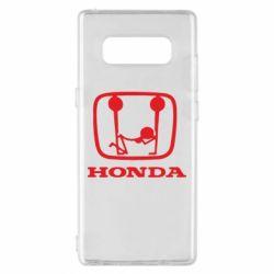 Чехол для Samsung Note 8 Honda - FatLine