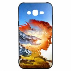 Чехол для Samsung J7 2015 Horizon Zero Dawn art