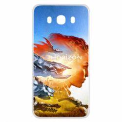 Чехол для Samsung J7 2016 Horizon Zero Dawn art