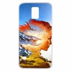 Чехол для Samsung S5 Horizon Zero Dawn art