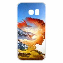 Чехол для Samsung S6 EDGE Horizon Zero Dawn art