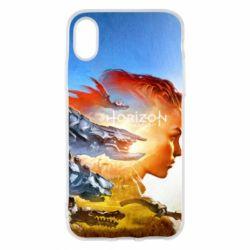 Чехол для iPhone X/Xs Horizon Zero Dawn art