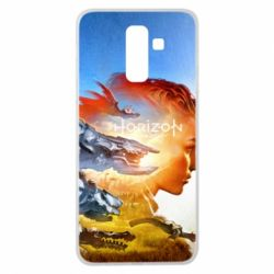 Чехол для Samsung J8 2018 Horizon Zero Dawn art