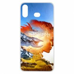 Чехол для Samsung A6s Horizon Zero Dawn art