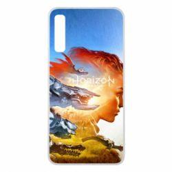 Чехол для Samsung A7 2018 Horizon Zero Dawn art