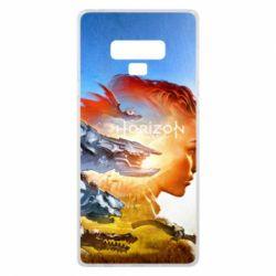 Чехол для Samsung Note 9 Horizon Zero Dawn art