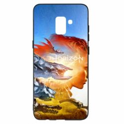 Чехол для Samsung A8+ 2018 Horizon Zero Dawn art