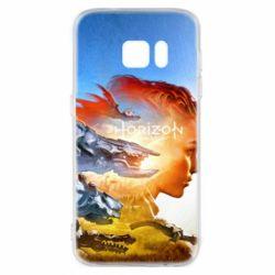 Чехол для Samsung S7 Horizon Zero Dawn art