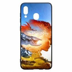 Чехол для Samsung A20 Horizon Zero Dawn art
