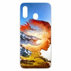 Чехол для Samsung A30 Horizon Zero Dawn art