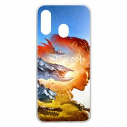Чехол для Samsung A40 Horizon Zero Dawn art