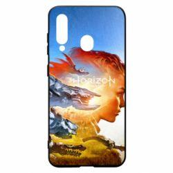 Чехол для Samsung A60 Horizon Zero Dawn art