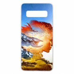 Чехол для Samsung S10 Horizon Zero Dawn art